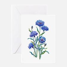 Blue Bonnets Greeting Card