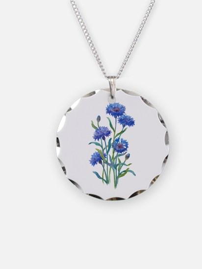 Blue Bonnets Necklace