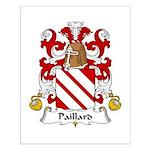 Paillard Family Crest Small Poster