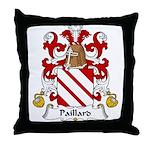 Paillard Family Crest Throw Pillow