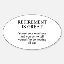 Retirement Decal