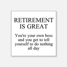 Retirement Sticker