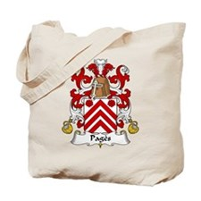 Pages Family Crest Tote Bag
