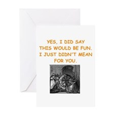 dungeon master Greeting Cards