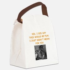 dungeon master Canvas Lunch Bag
