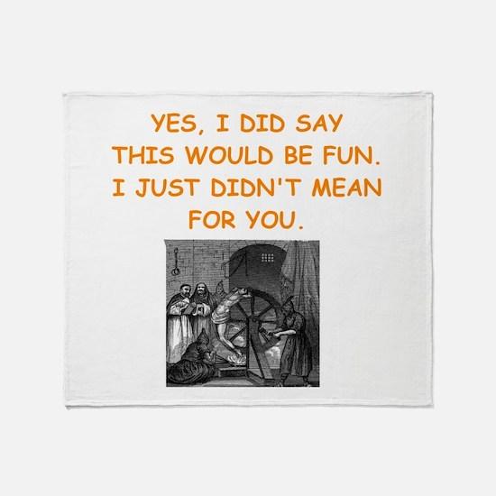 dungeon master Throw Blanket