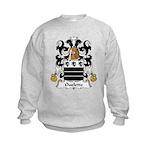 Ouelette Family Crest  Kids Sweatshirt