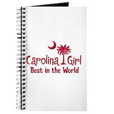 Garnet Carolina Girl Best Journal