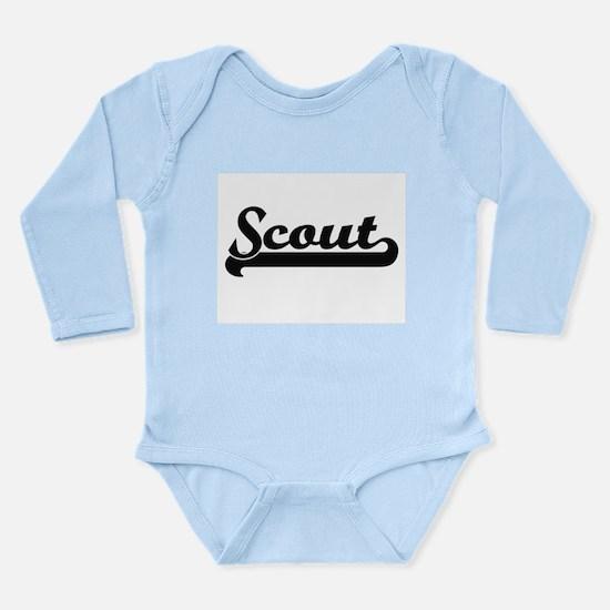 Scout Artistic Job Design Body Suit