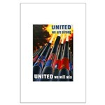 United We Win Large Poster