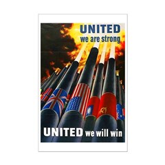 United We Win Posters