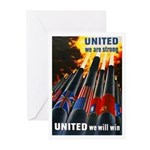 United We Win Greeting Cards (Pk of 10)