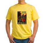 United We Win (Front) Yellow T-Shirt