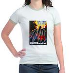 United We Win Jr. Ringer T-Shirt
