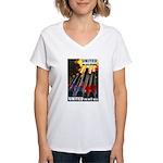 United We Win Women's V-Neck T-Shirt