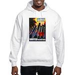 United We Win (Front) Hooded Sweatshirt