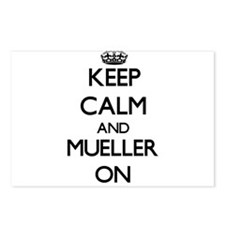 Keep Calm and Mueller ON Postcards (Package of 8)