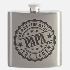Popa - The Man, The Myth, The Legend Flask