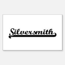 Silversmith Artistic Job Design Decal