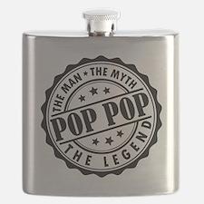 Pop Pop - The Man, The Myth, The Legend Flask