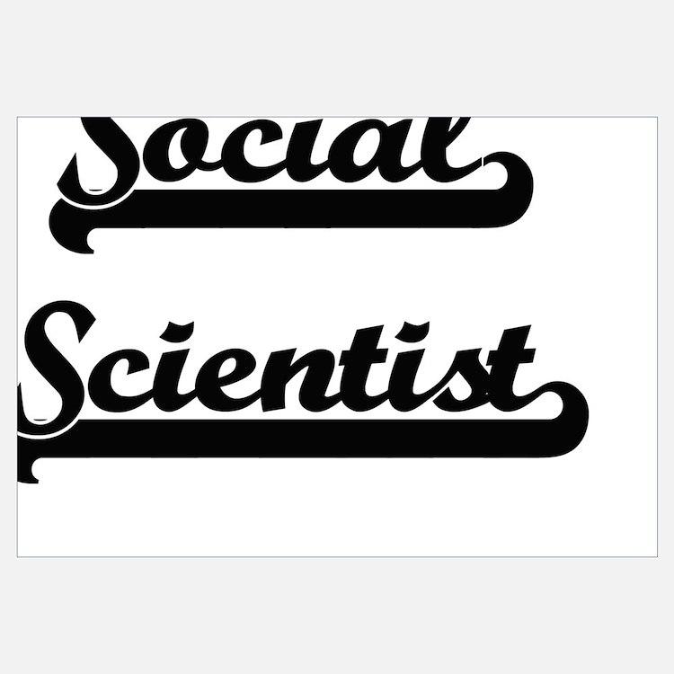Cute Social science research paper Wall Art