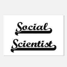 Social Scientist Artistic Postcards (Package of 8)