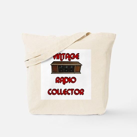 Vintage Radio Collector Tote Bag