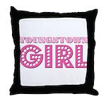 Youngstown Girl Throw Pillow
