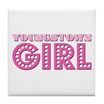 Youngstown Girl Tile Coaster