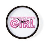 Youngstown Girl Wall Clock
