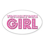 Youngstown Girl Oval Sticker
