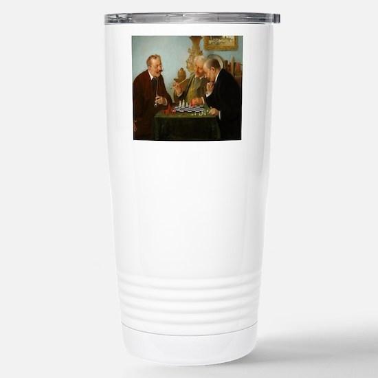 chess in art Travel Mug