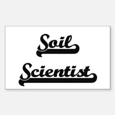 Soil Scientist Artistic Job Design Decal