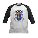 Odin Family Crest Kids Baseball Jersey