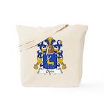 Odin Family Crest Tote Bag