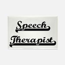 Speech Therapist Artistic Job Design Magnets
