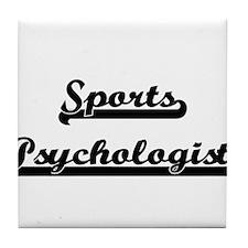 Sports Psychologist Artistic Job Desi Tile Coaster