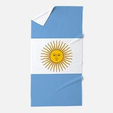 Argentine Flag Beach Towel