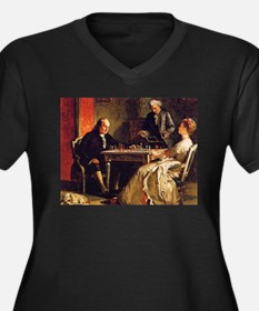 chess in art Plus Size T-Shirt