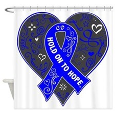 Myositis Hold on to Hope Shower Curtain