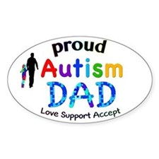 Proud Autism Dad Decal