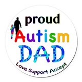Special education Round Car Magnets