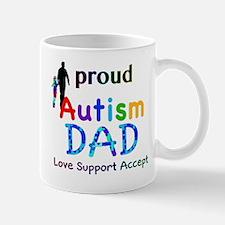 Proud Autism Dad Mug
