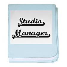 Studio Manager Artistic Job Design baby blanket