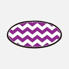 Purple Chevron Patches