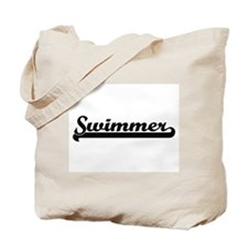 Swimmer Artistic Job Design Tote Bag