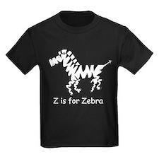 Z is for Zebra T