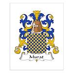 Murat Family Crest Small Poster