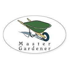 Master Gardener Oval Stickers