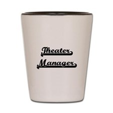 Theater Manager Artistic Job Design Shot Glass